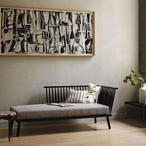 Furniture West Elm Modern Windsor Chaise portrait 3