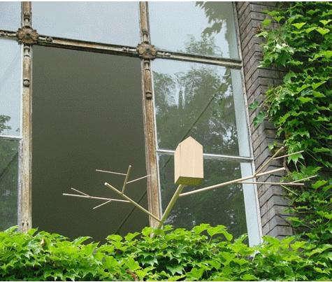 belgian  20  birdhouse