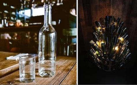 gjelina  20  wine  20  bottles  20  light  20  fixture  20  and  20  carafe