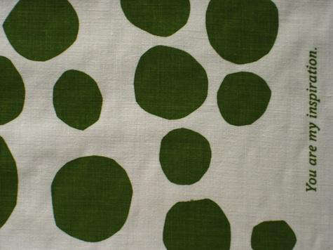 jenny  20  bergman  20  green  20  dot  20  fabric
