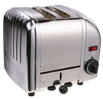 dualit  20  two slice  20  toaster  20  chrome