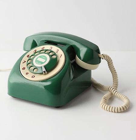 vintage  20  rotary  20  phone  20  green  20