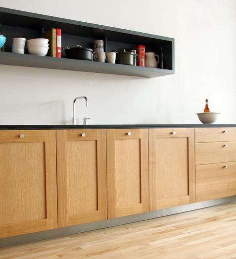 Viola Park Oak Grey kitchen