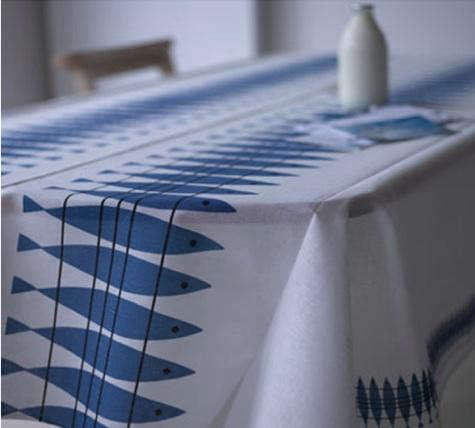 Fabrics  Linen Almedahls Herring Fabric at Huset Shop portrait 3