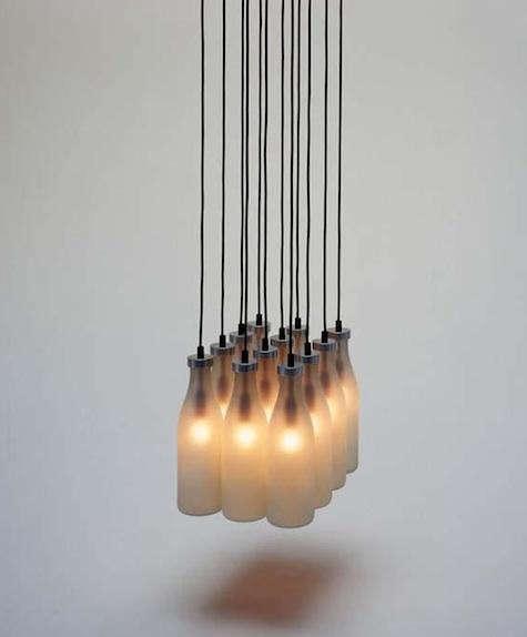 Lighting Droog Milkbottle Lamp portrait 3