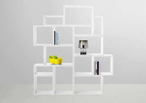 Furniture Stacked Shelf System from Muuto portrait 5