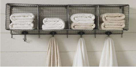 Design Sleuth Wire Towel Rack in the Bath portrait 3