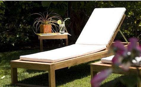 teak chaise design public