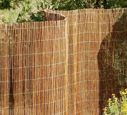 Outdoors Willow Garden Fencing portrait 3