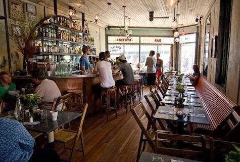 Hotels Lodging  Restaurants Five Leaves in Brooklyn portrait 10