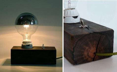 wood block lamp 2