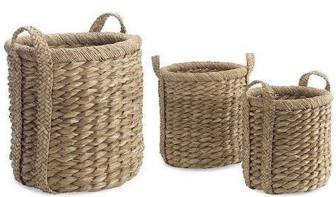 Higbee baskets williams sonoma