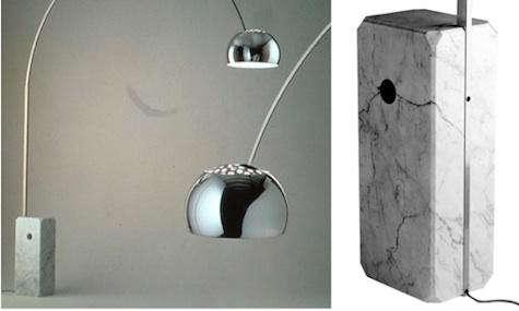 arc lamp base