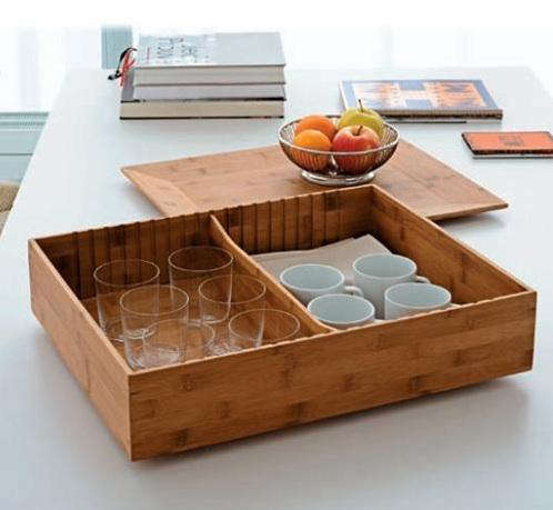 Tabletop Fat Tray Box Container by Alessi portrait 3