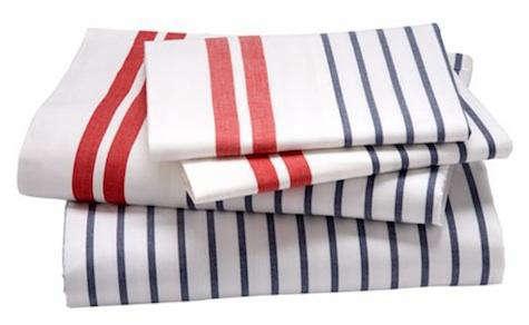 land of nod striped sheets
