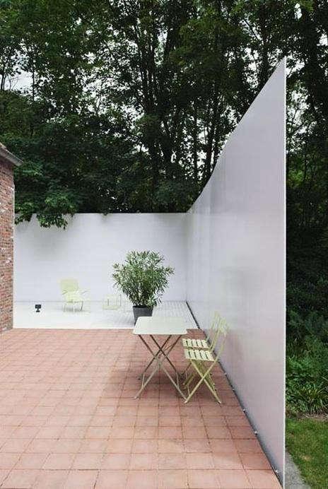 Outdoors Steel Garden Wall in Europe portrait 3