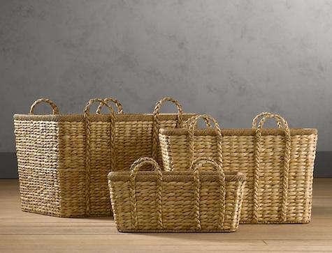 Storage Rustic Woven Basket Roundup portrait 5