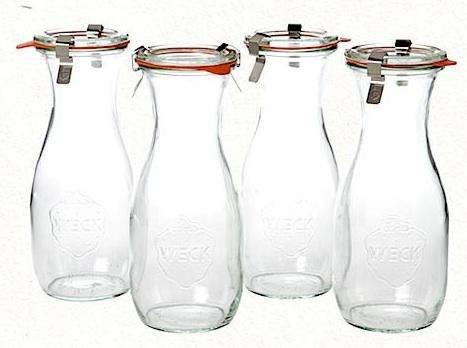 Kitchen Weck WideMouth Juice Jars at Terrain portrait 3