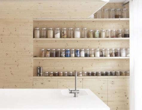 i29 kitchen with jars
