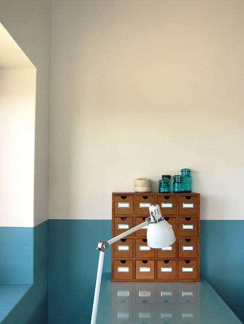 Paints  Palettes HalfPainted Walls in Bold Colors portrait 5
