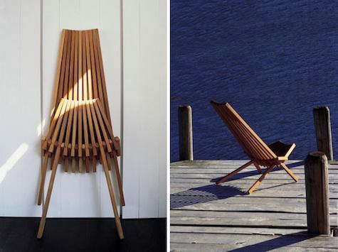 Outdoors Teak Deck Chairs from Trinidad in France portrait 4