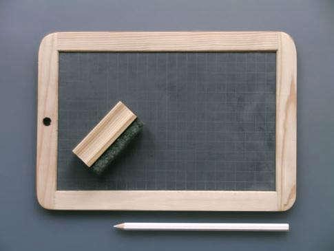 chalkboard labour and wait