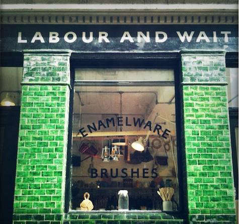 labour and wait green exterior