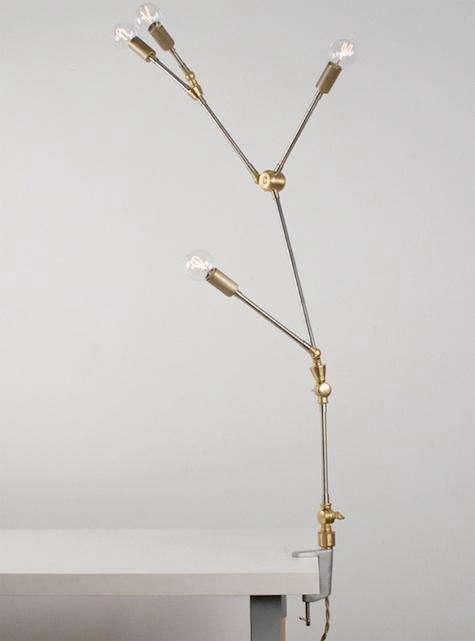lindsey adelman clamp lamp