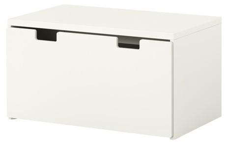 stuva storage bench white
