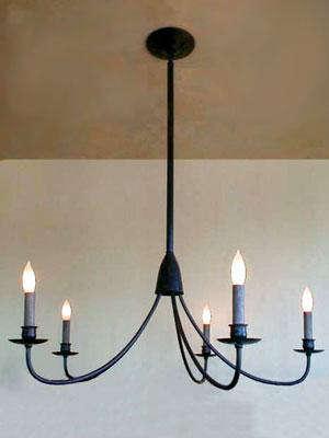 Lighting Simple Candle Chandelier portrait 4