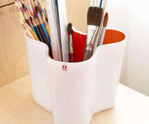 Design Sleuth Aalto Vase as Utensil Holder portrait 6