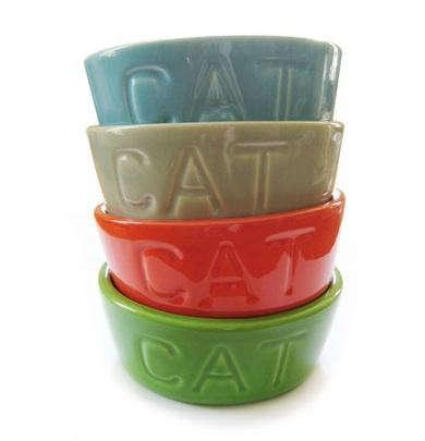 ancient industries cat bowl