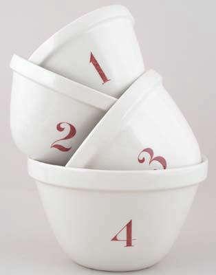 burleigh white pudding bowls