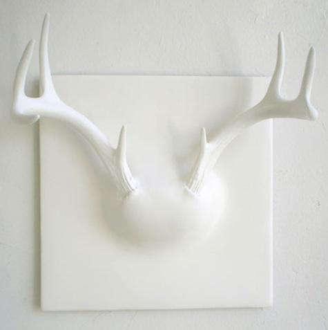 Design Sleuth White Antler Rack  portrait 4