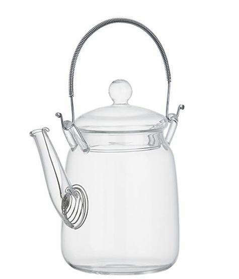 Tabletop Darling Glass Teapot portrait 3
