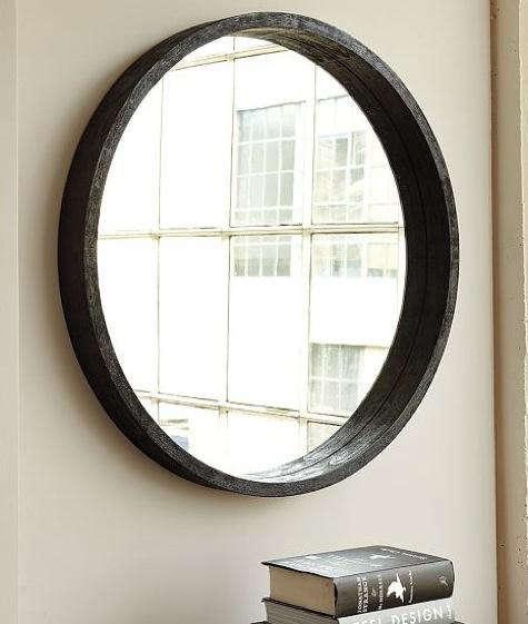 Accessories: Round Mirror from West Elm portrait 2