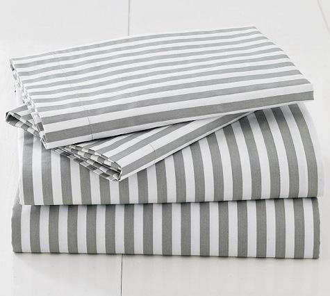 HighLow Gray and Saffron Bed Linens portrait 4