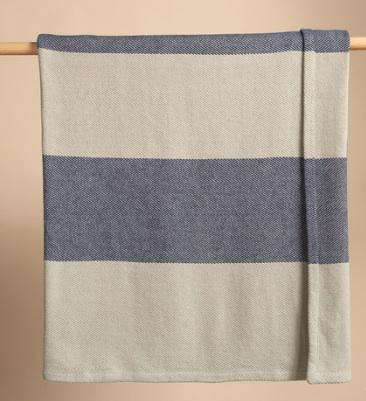 Fabrics  Linens Megastripe Blanket portrait 4