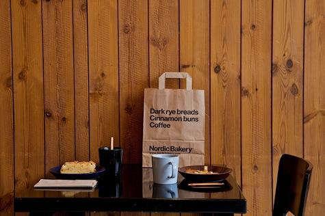 Nordic bakery interior