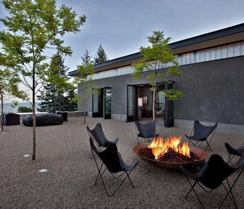 cade winery fire pit
