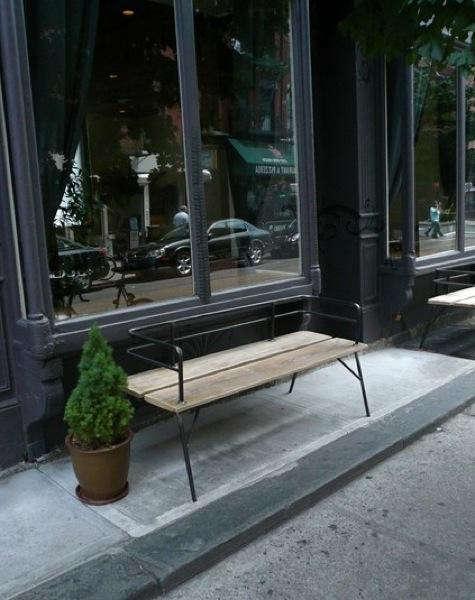 Furniture Panka IndoorOutdoor Bench portrait 3