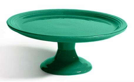 Bauer  20  Pottery  20  Cake  20  Stand  20  Turquoise