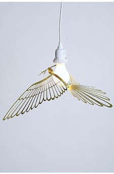 Childrens Rooms Bird Pendant Light from Urban Outfitters portrait 2