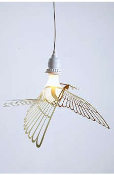 Childrens Rooms Bird Pendant Light from Urban Outfitters portrait 3