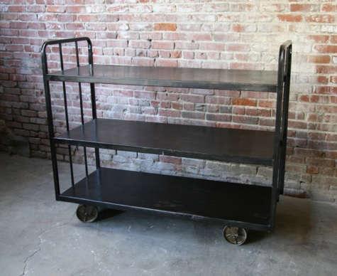 vintage steel cart cleveland art
