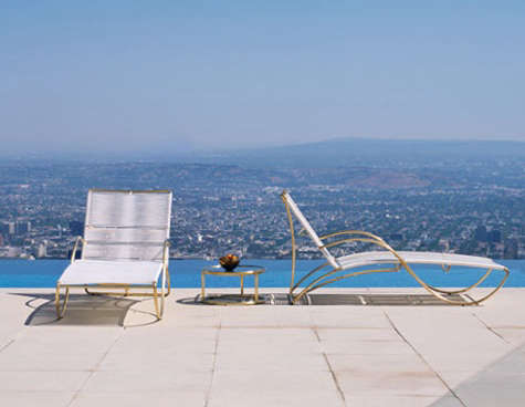 walter lamb chaise gumps in los angeles