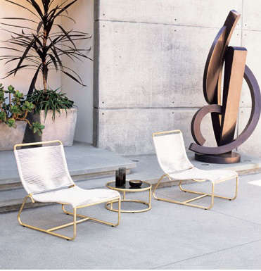 walter lamb lounge chairs table gumps