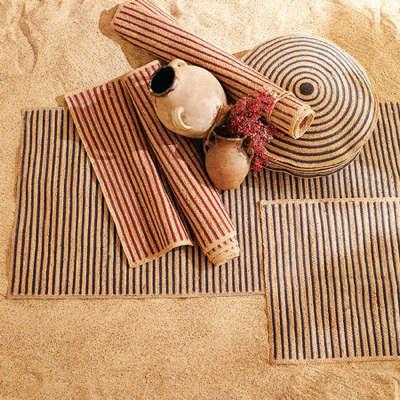 west elm striped jute rugs