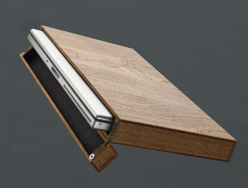 Office Rainer Spehl Wooden Laptop Case portrait 4