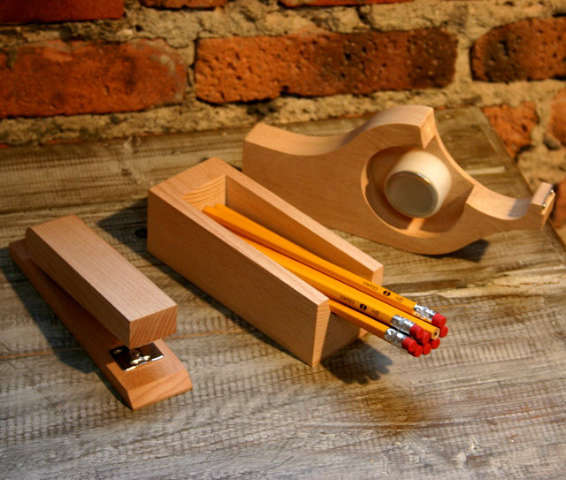 Office Wooden Desk Accessories from A  G Merch portrait 3